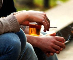 The Dangers of Social Smoking and Drinking