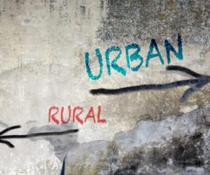 Substance Abuse in Urban Areas vs. Rural Areas