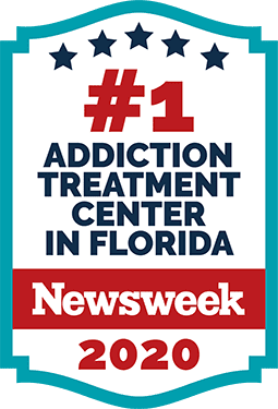 #1 Alcohol & Drug Rehab Center in Florida 2021 by Newsweek